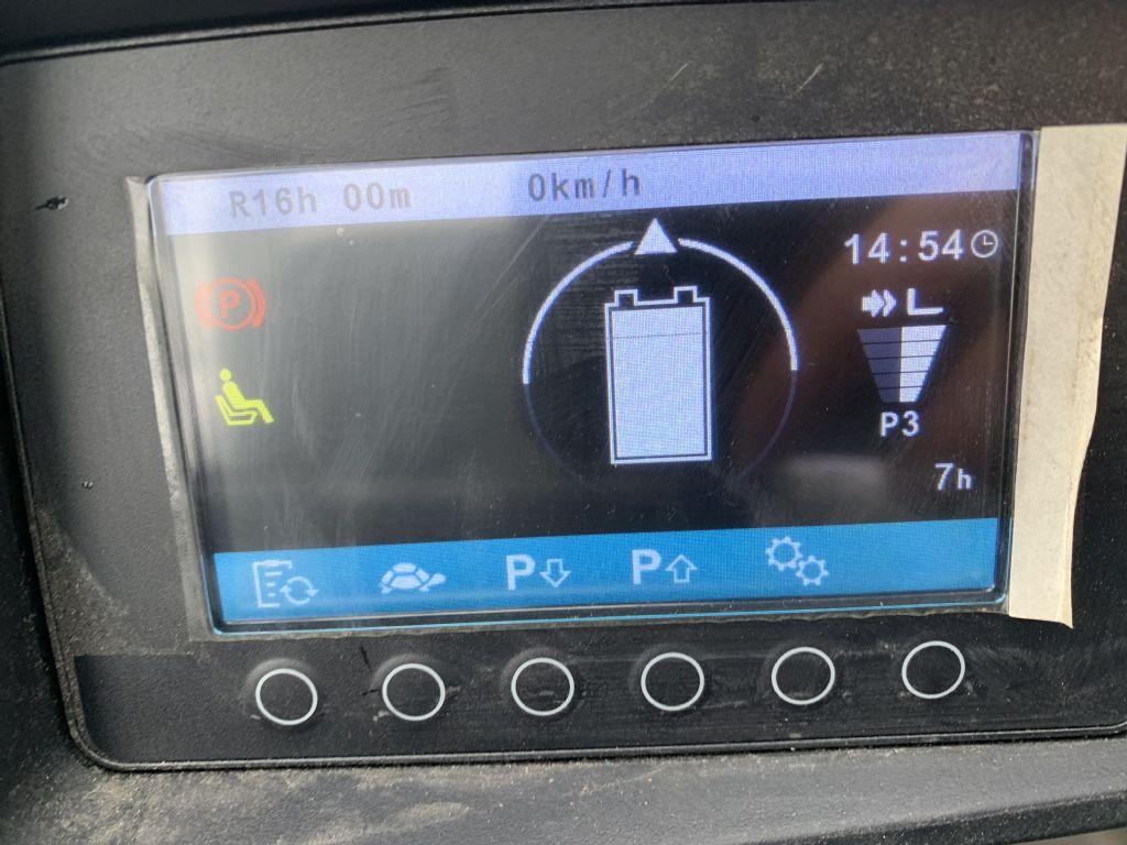 Jungheinrich EFG 220 Baujahr 2017 / Stunden 7 / NEUWERTIG  Elektro 3 Rad-Stapler www.gst-logistic.com