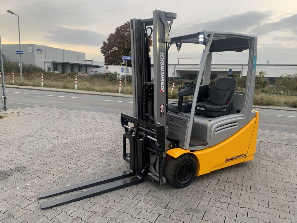 Jungheinrich EFG 216 Baujahr 2018 Stunden 1659 Neuwertig Elektro 3 Rad-Stapler www.gst-logistic.com