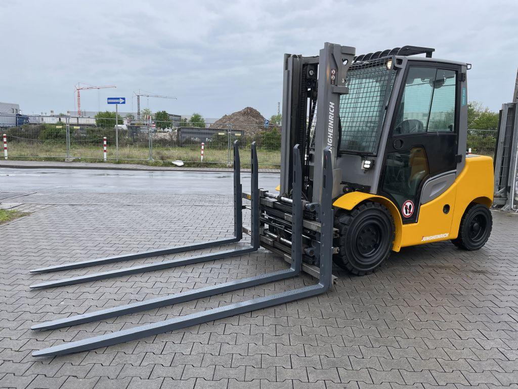 Jungheinrich DFG 550s Baujahr 2018 Stunden 9432 Duplex 3,3M Dieselstapler www.gst-logistic.com