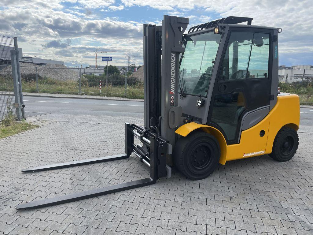 Jungheinrich DFG 550s Baujahr 2018 Stunden 5377 Duplex 3,3M Dieselstapler www.gst-logistic.com