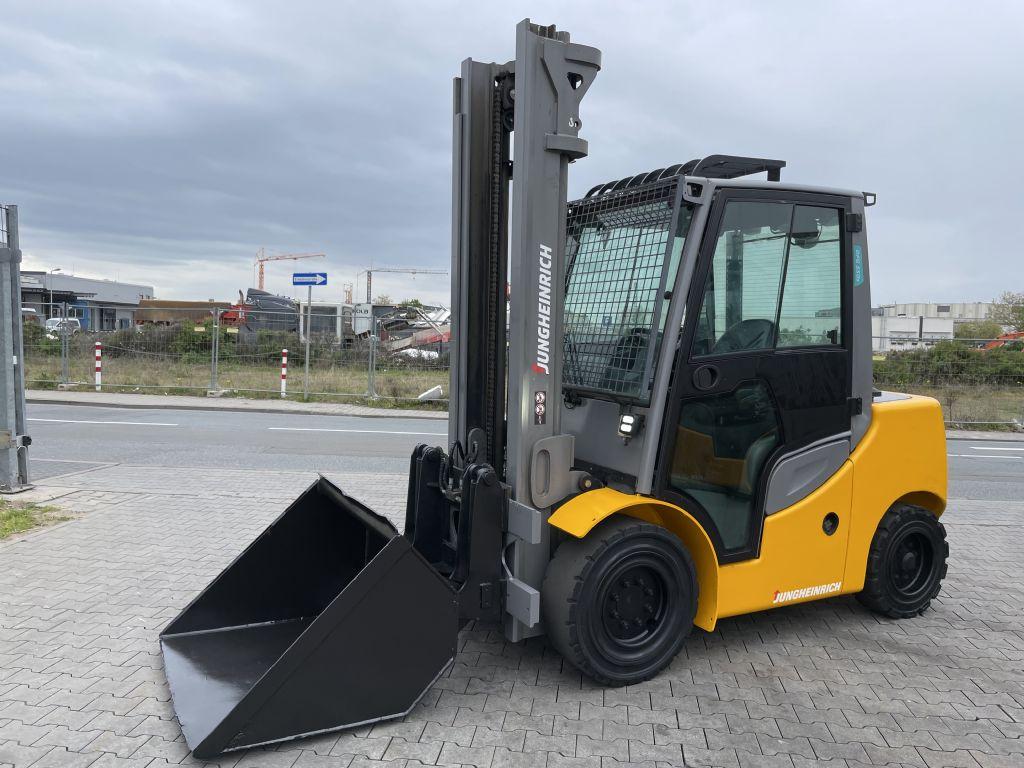 Jungheinrich DFG 550s Baujahr 2018 Stunden 5247 4,3M Dieselstapler www.gst-logistic.com