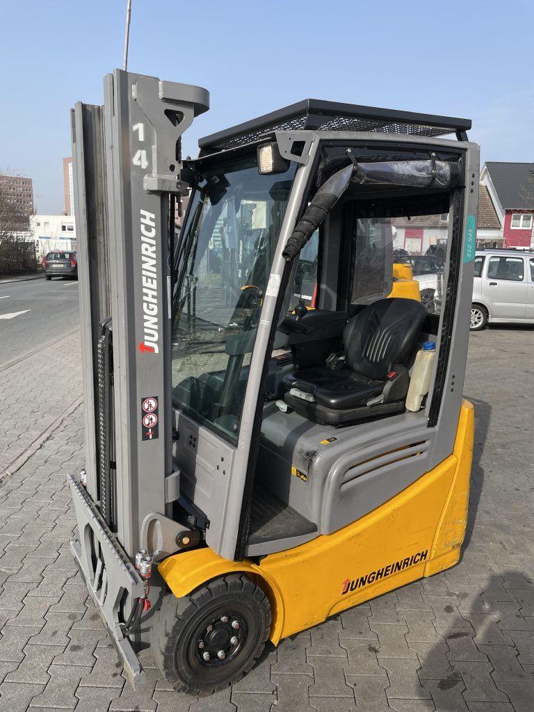 Jungheinrich EFG 213 Baujahr 2018 Hours 1024 NEUWERTIG Elektro 3 Rad-Stapler www.gst-logistic.com