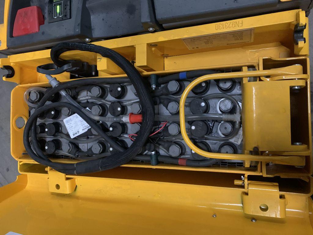 Jungheinrich EJR 120n Baujahr 2016 Stunden 3104 Gabel 1,15M Niederhubkommissionierer www.gst-logistic.com