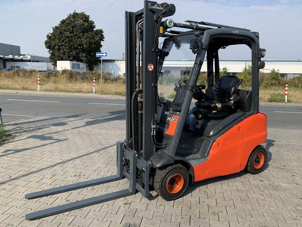 Linde H 20 T/ 391 Baujahr 2013  / Stunden 13260 / HH 3545 Treibgasstapler www.gst-logistic.com