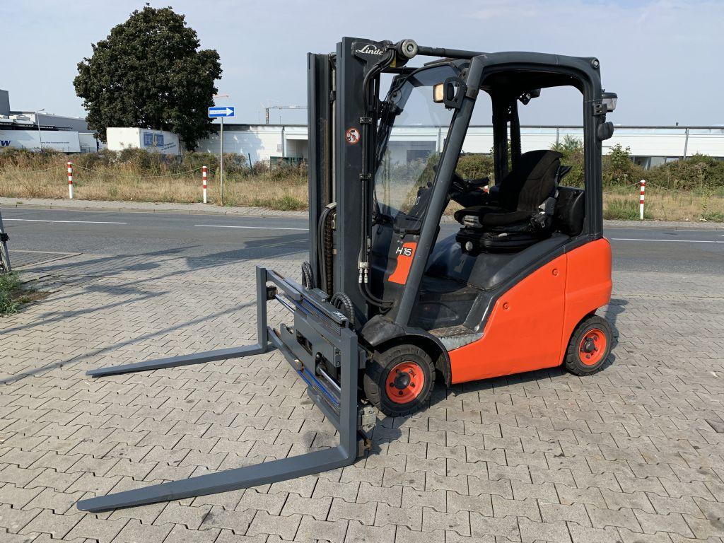 Linde H 16 D  Baujahr 2015  / Stunden 4431/ HH 4625 Dieselstapler www.gst-logistic.com