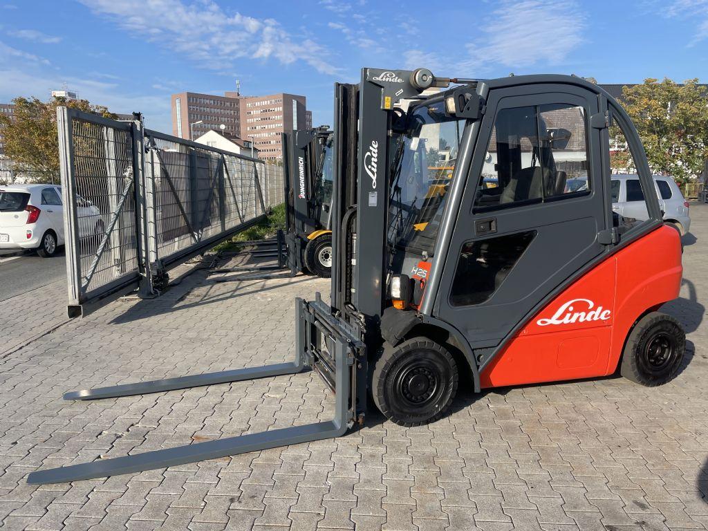 Linde H 25D Baujahr 2003 Stunden 13866 Vollkabine Diesel Forklift www.gst-logistic.com