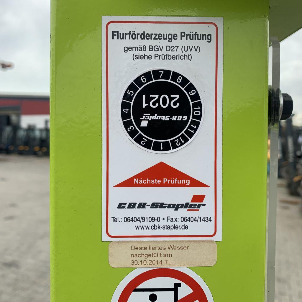 Pramac GX12/25 Baujahr 2012 HH 2500 TOP ZUSTAND Hochhubwagen www.gst-logistic.com