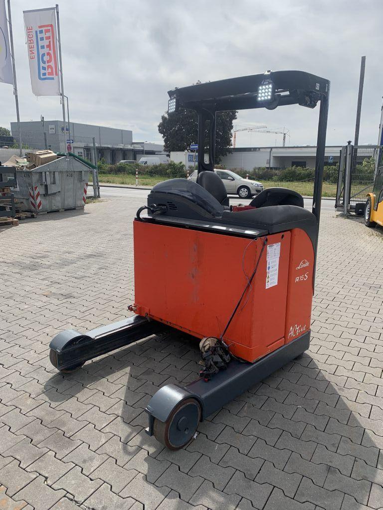 Linde R 16 HD Baujahr 2007 Hubhöhe 10500 Mit Kamera  Schubmaststapler www.gst-logistic.com