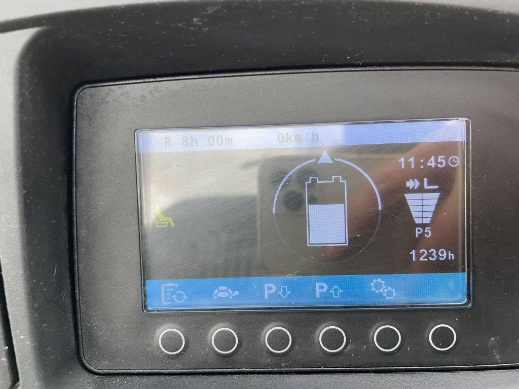 Jungheinrich EFG 213 Baujahr 2018 Hours 1239 NEUWERTIG Elektro 3 Rad-Stapler www.gst-logistic.com