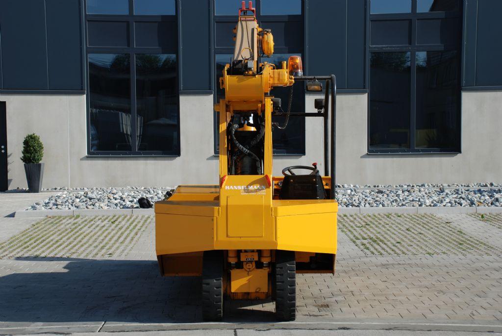 Manghi Gru Kran Manghi P 60EV Pick & Carry Crane www.hanselmann.de