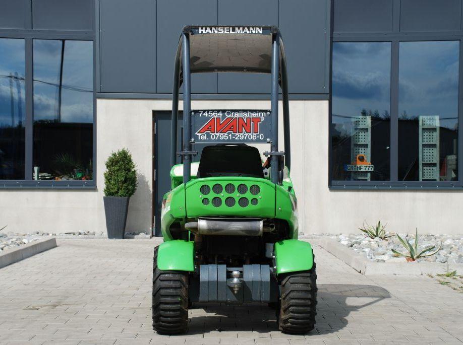 *Sonstige Avant 220 Radlader www.hanselmann.de