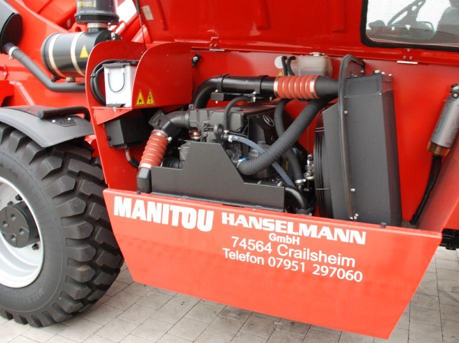 Manitou MHT-X 10120 Teleskopstapler starr www.hanselmann.de