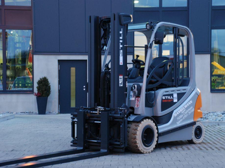 Still RX 60-30L/ 600 Elektro 4 Rad-Stapler www.hanselmann.de