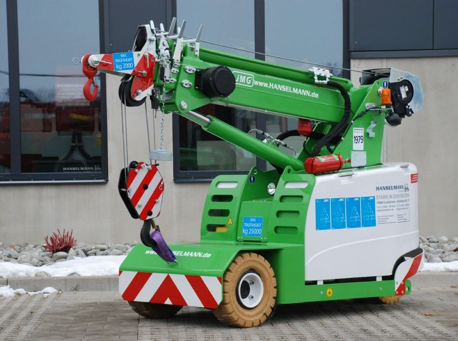 JMG JMG MC 25S Pick & Carry Crane www.hanselmann.de