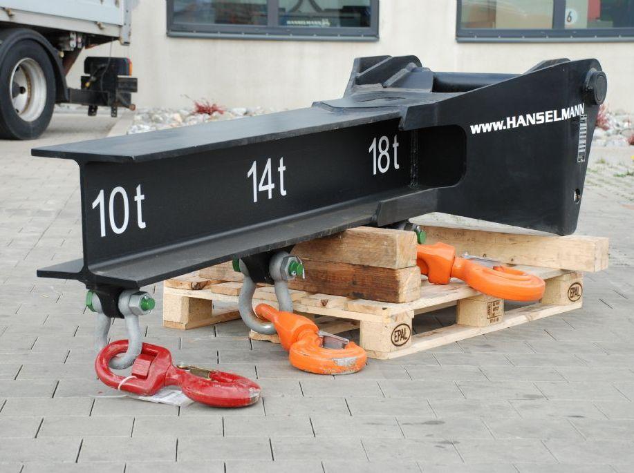 Manitou P 18T Kranarm www.hanselmann.de