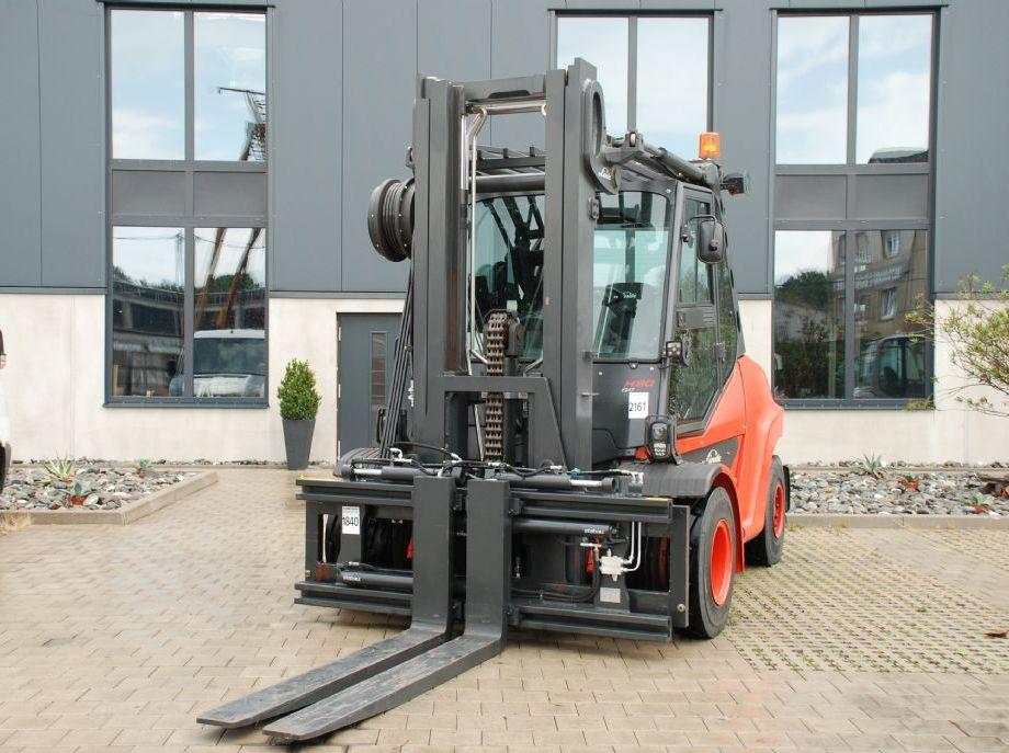 Linde H80D-03/900 Dieselstapler www.hanselmann.de