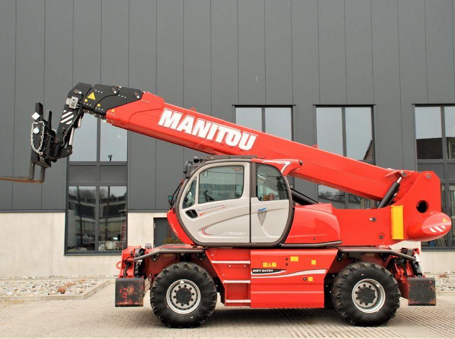 Manitou-MRT2470+ Privilege ST4 S1-Teleskopstapler drehbar www.manitou-teleskopstapler.de