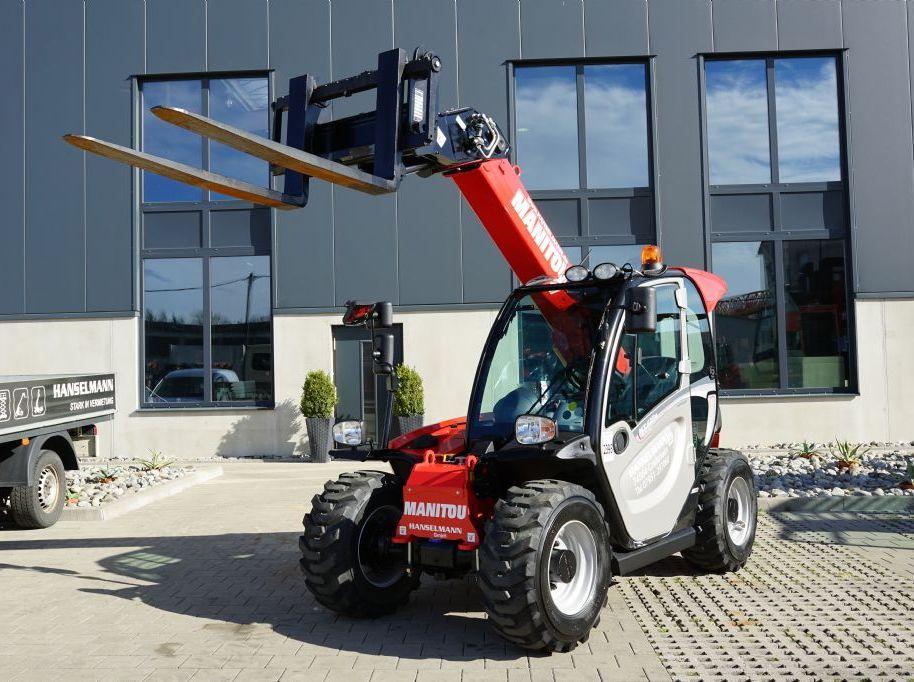Manitou MT420H New Buggy ST3A Teleskopstapler starr www.hanselmann.de