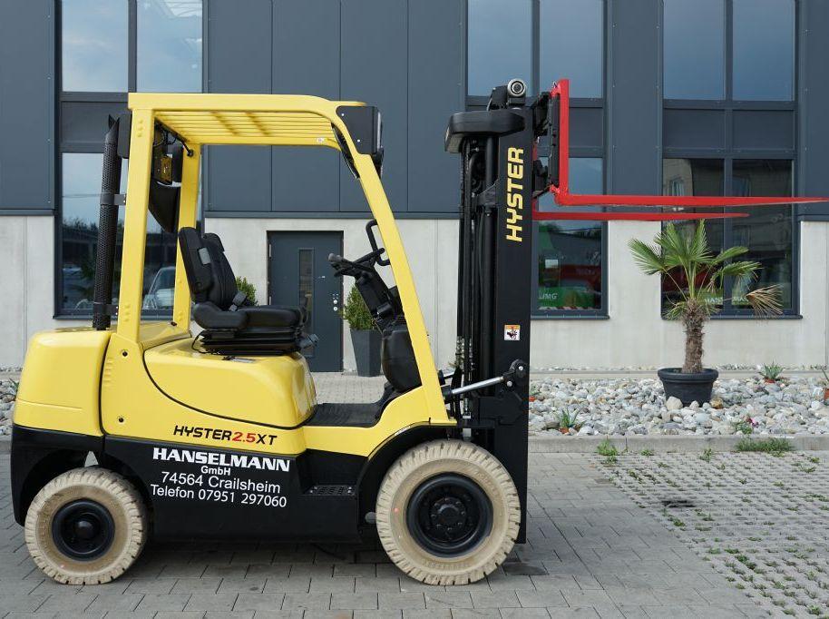 Hyster 2.5XT Dieselstapler www.hanselmann.de