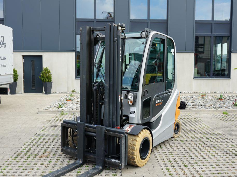 Still RX60-35 Elektro 4 Rad-Stapler www.hanselmann.de