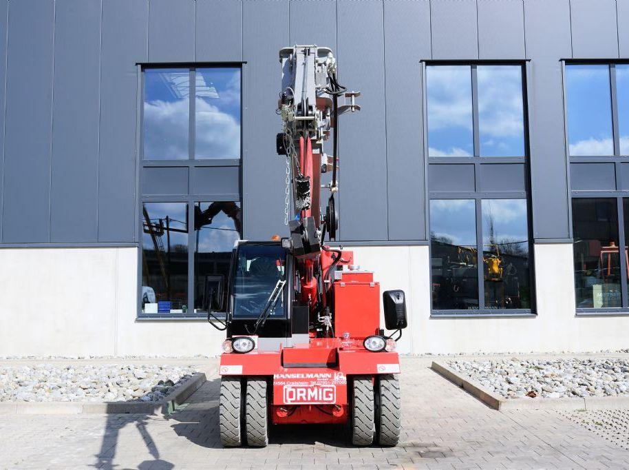 Ormig 5,5tmE Pick & Carry Crane www.hanselmann.de