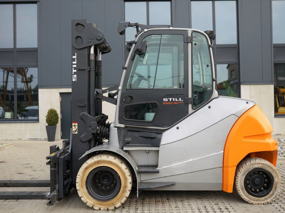 Still RX60-80/ 900 Elektro 4 Rad-Stapler www.hanselmann.de