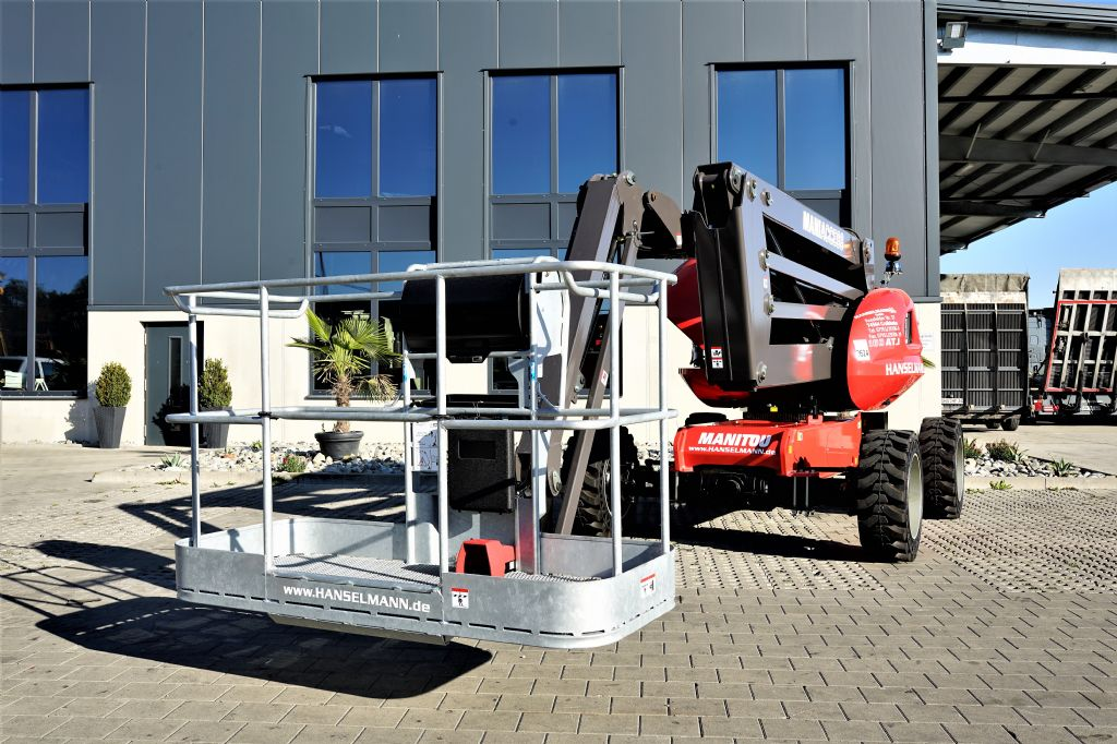Manitou 160ATJ E3 Gelenkteleskopbühne www.hanselmann.de
