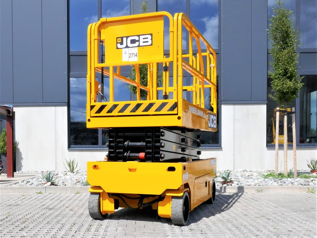 JCB S2646E Scherenarbeitsbühne www.hanselmann.de
