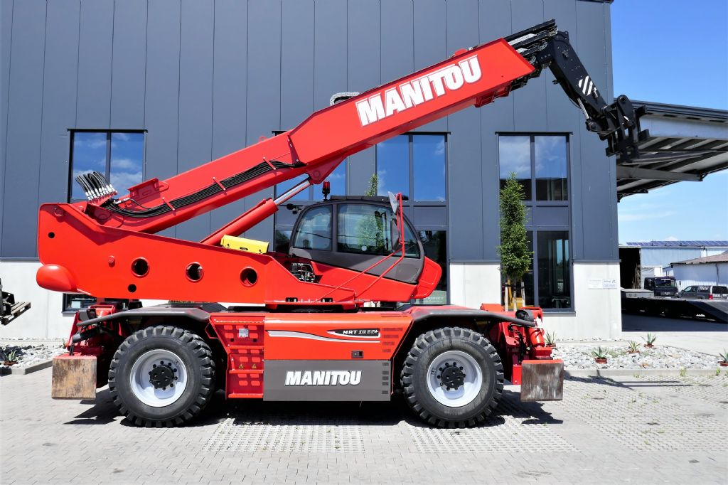 Manitou MRT3255+ Privilege Teleskopstapler drehbar www.hanselmann.de