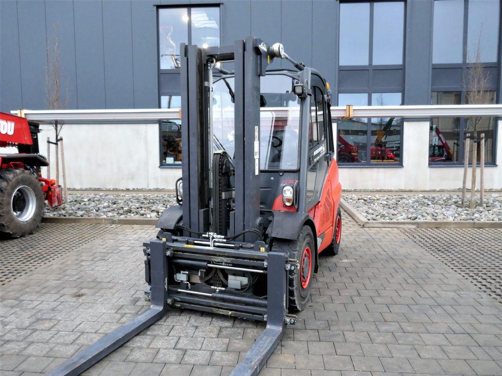 Linde H50D-02 Dieselstapler www.hanselmann.de