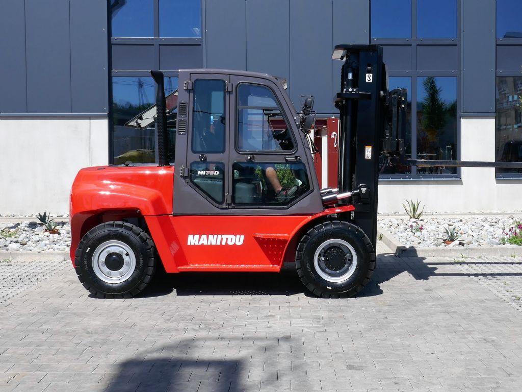 Manitou MI70D ST3B S2 Dieselstapler www.hanselmann.de
