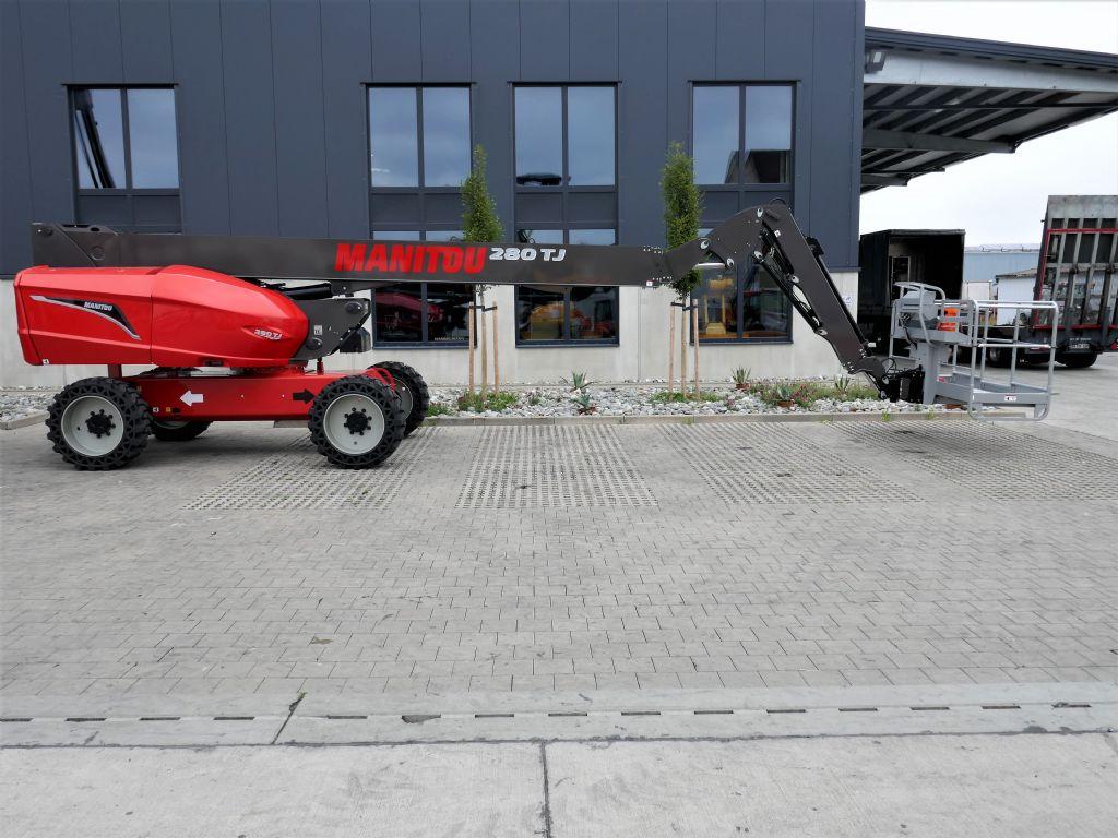 Manitou 280TJ Teleskoparbeitsbühne www.hanselmann.de