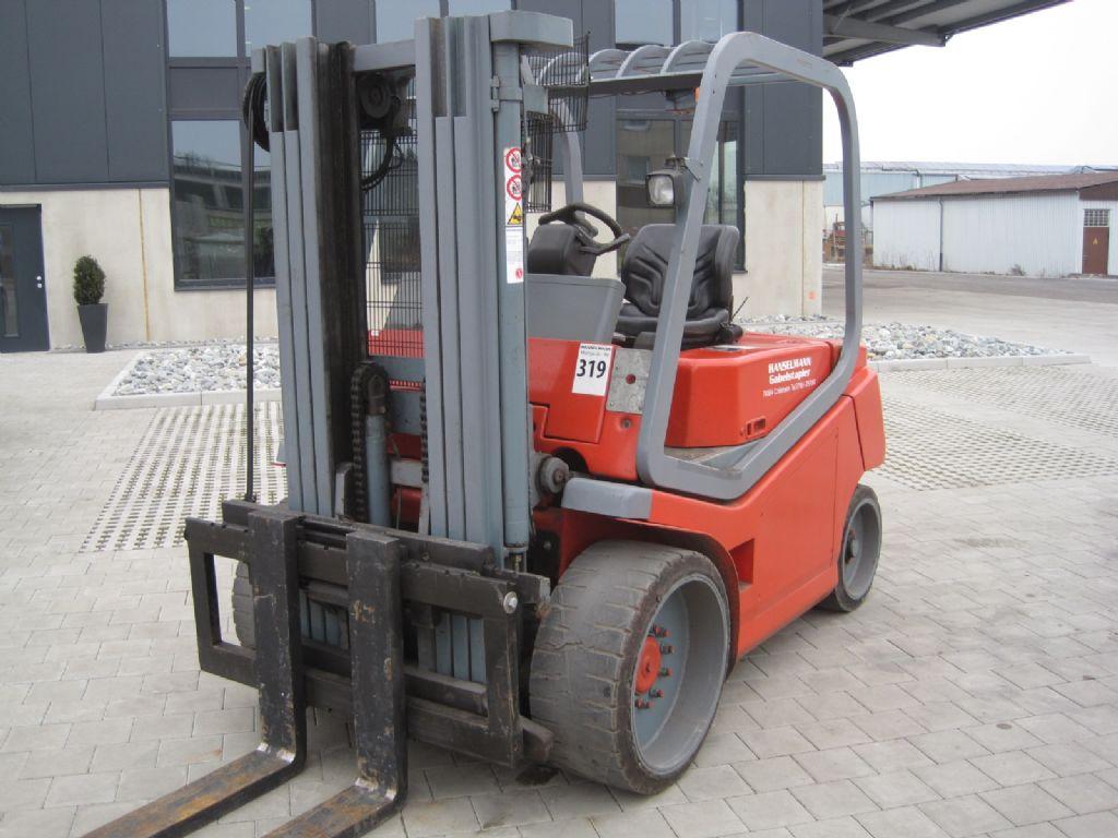 Cesab MAK 500 Elektro 4 Rad-Stapler www.hanselmann.de
