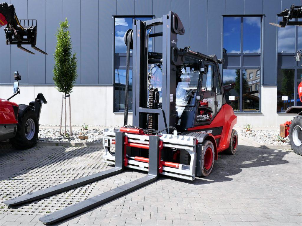 Linde H80T-02/900 Treibgasstapler www.hanselmann.de