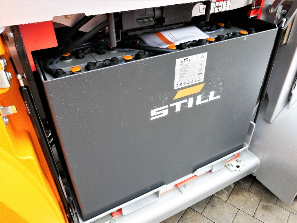 Still RX60-80 Elektro 4 Rad-Stapler www.hanselmann.de