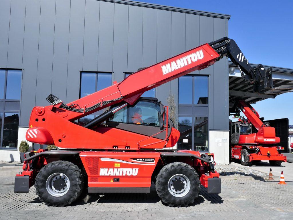 Manitou-MRT2150+ Privilege ST4 S2-Teleskopstapler drehbar www.manitou-teleskopstapler.de