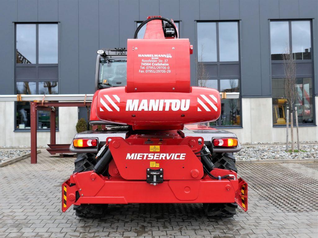 Manitou MRT2550+ Privilege ST4 S2 Teleskopstapler drehbar www.hanselmann.de