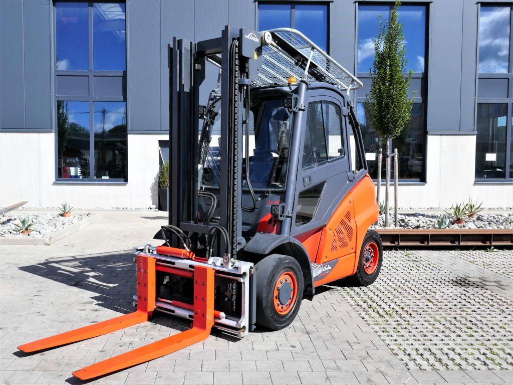 Linde H40D-02 Dieselstapler www.hanselmann.de