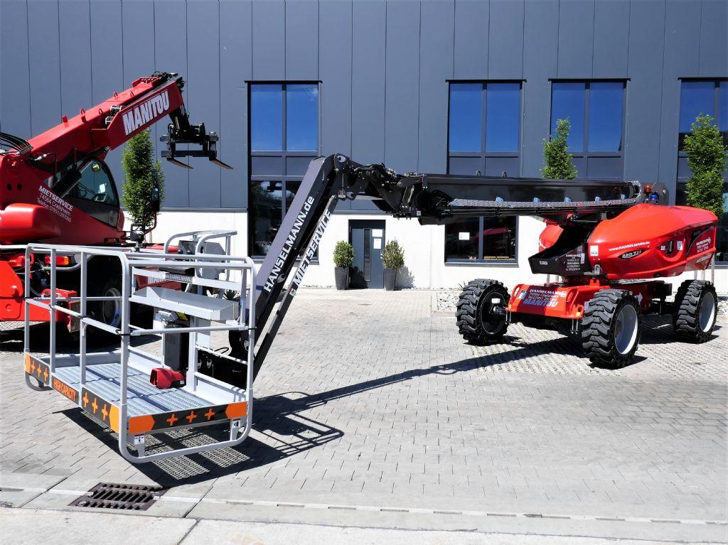 Manitou 220TJ+ Teleskoparbeitsbühne www.hanselmann.de