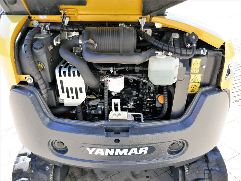 Yanmar SV26 Minibagger www.hanselmann.de