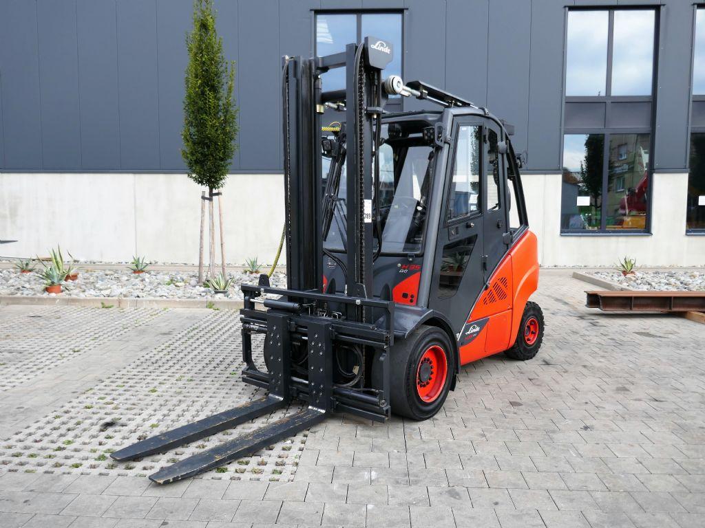 Linde H35D-02 EVO Dieselstapler www.hanselmann.de