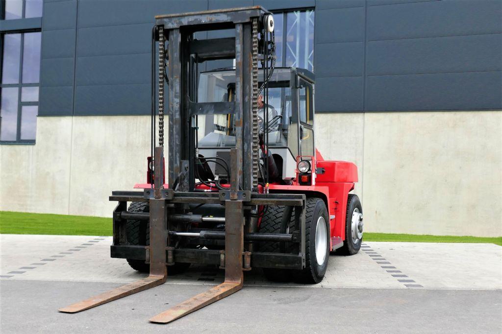 Kalmar DCE 120-6 Dieselstapler www.hanselmann.de