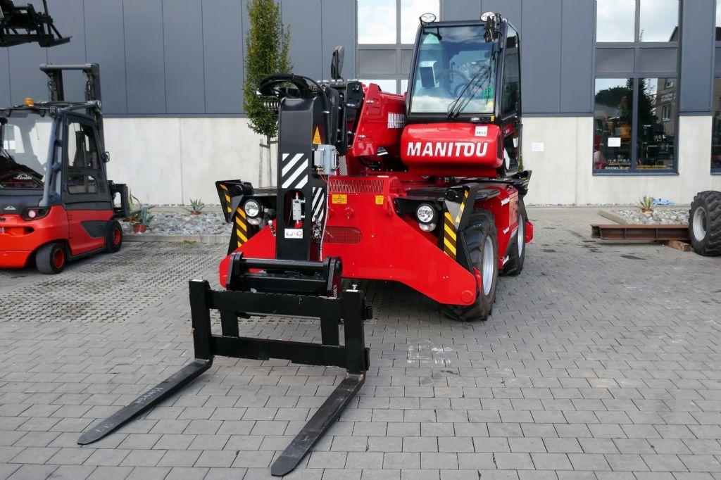 Manitou MRT1840 Easy 75P 360 ST4 S1 Teleskopstapler drehbar www.hanselmann.de