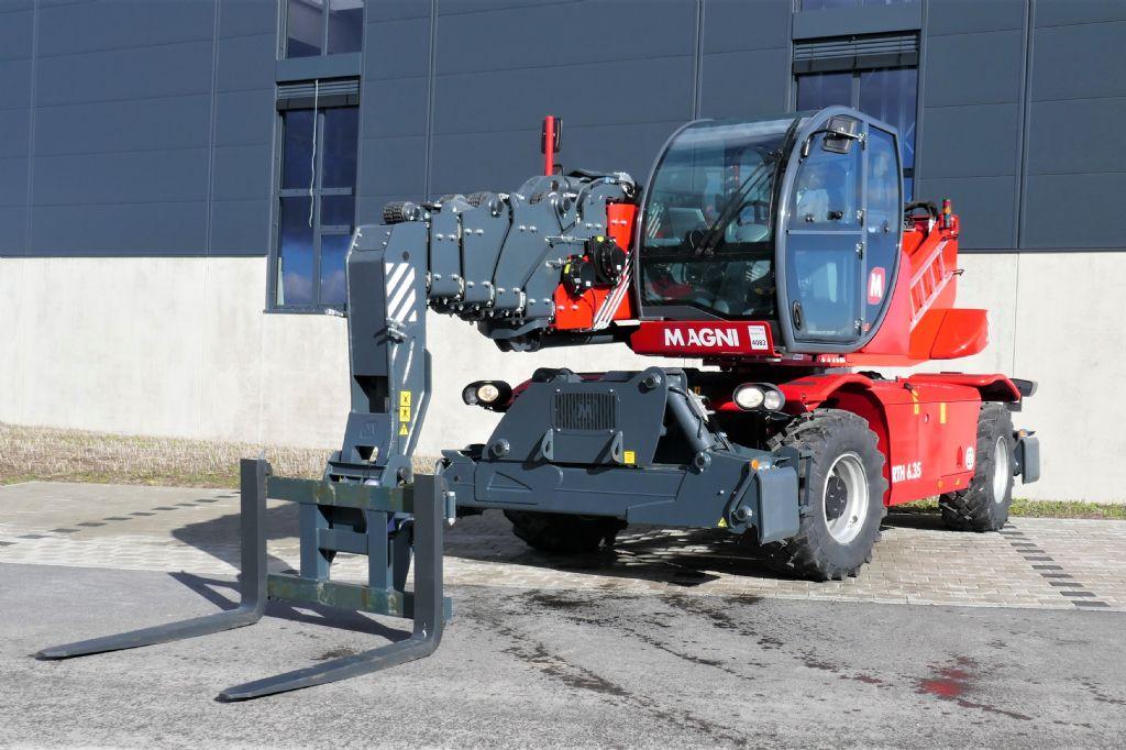 Magni RTH 6.35 Teleskopstapler drehbar www.hanselmann.de