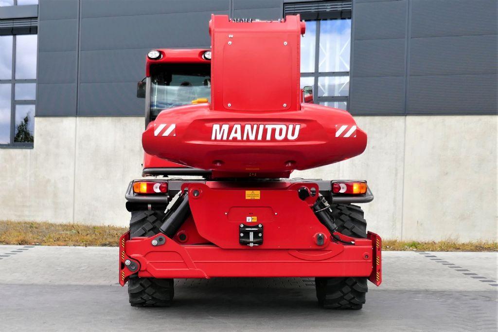 Manitou MRT2470+ Privilege ST4 S1 Teleskopstapler drehbar www.hanselmann.de