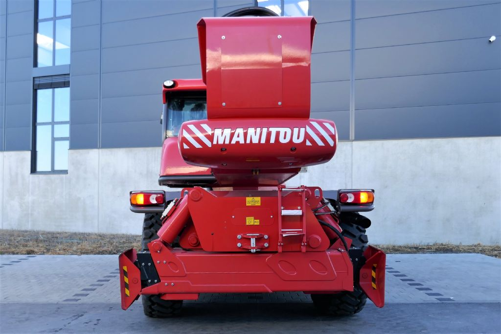 Manitou MRT3255+ Privilege ST4 S1 Teleskopstapler drehbar www.hanselmann.de