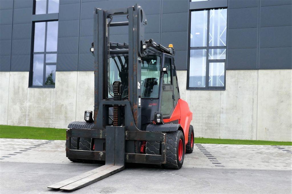 Linde H80D-03/1100 Dieselstapler www.hanselmann.de