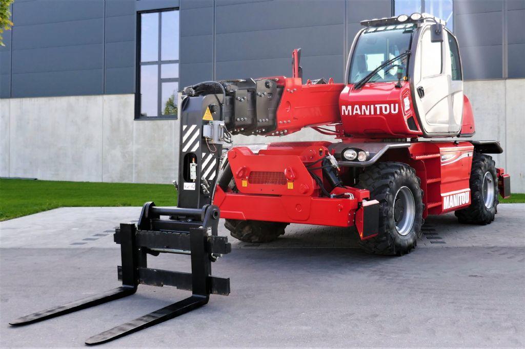 Manitou MRT2150+ Privilege ST4 S2 Teleskopstapler drehbar www.hanselmann.de