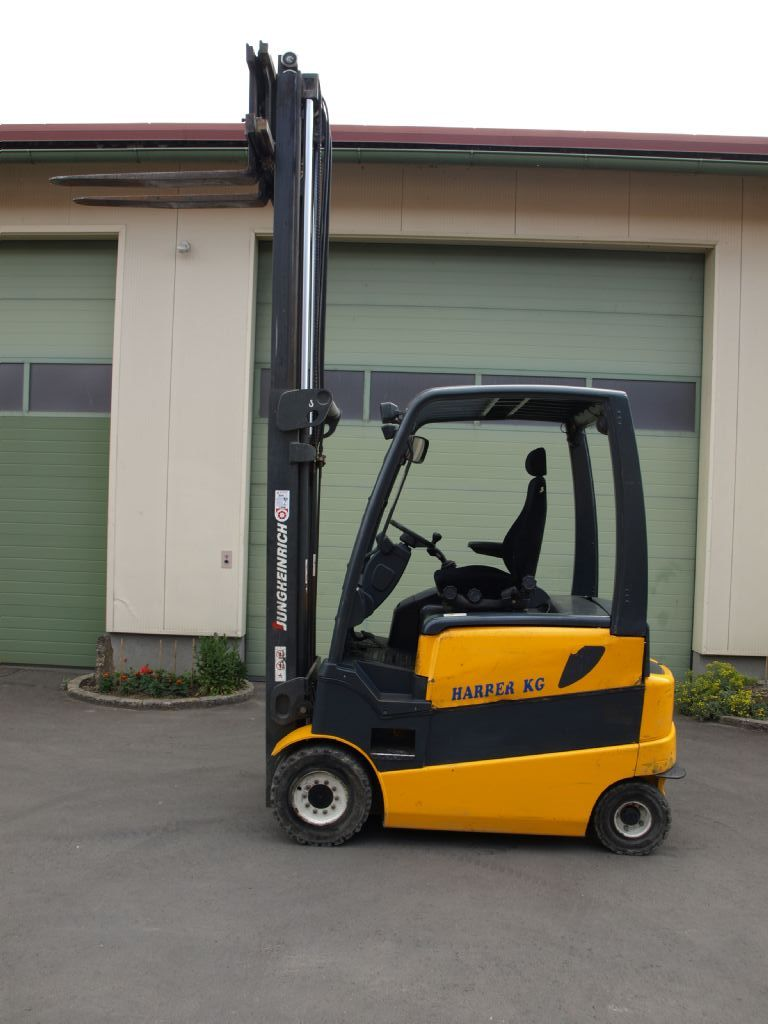 Jungheinrich EFG430 MPG-370ZT Elektro 4 Rad-Stapler www.gabelstaplerservice.at