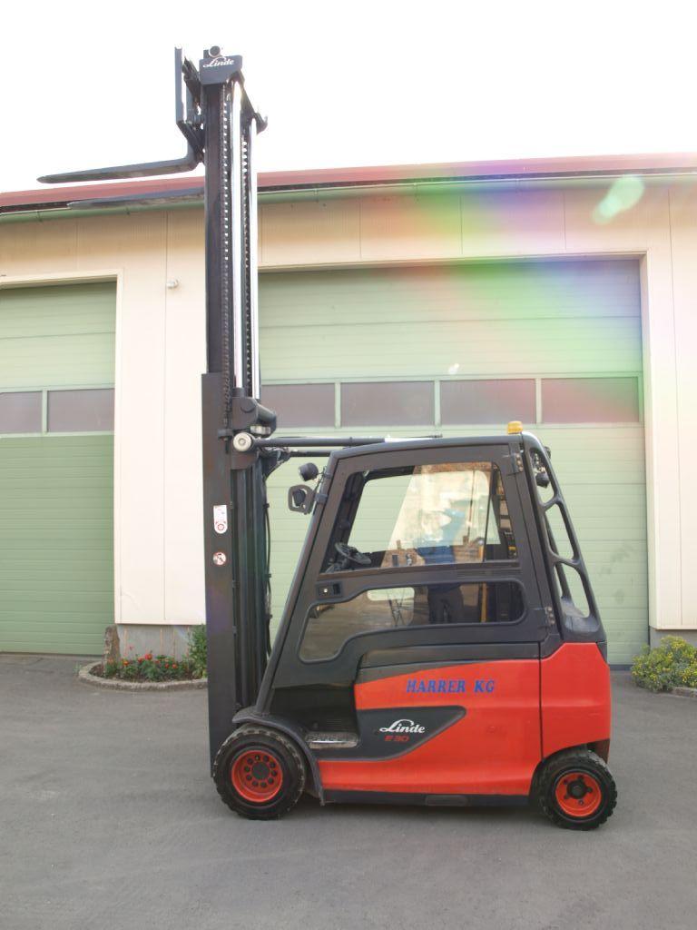 Linde E30 HL-01 Elektro 4 Rad-Stapler www.gabelstaplerservice.at